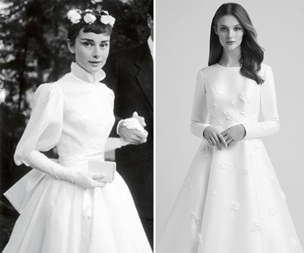 Audrey Hepburn Balo Tipi Gelinlik