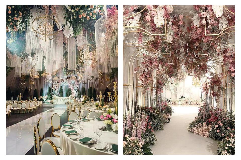 Çiçek Düğün Süslemeleri