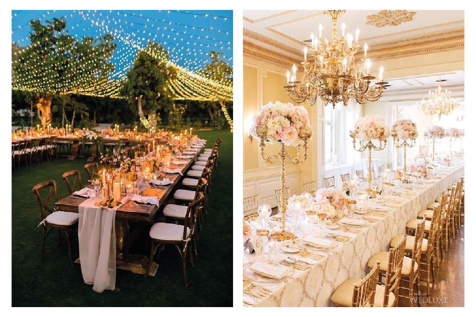 Düğün Masası Süslemeleri
