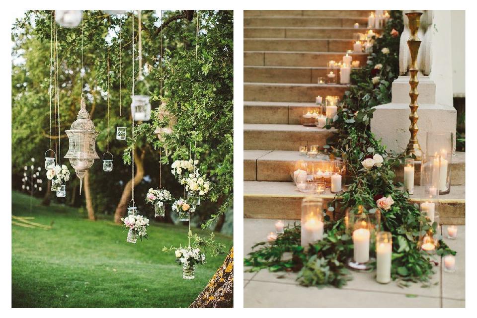 Düğün Şamdanı ve Düğün Mumları