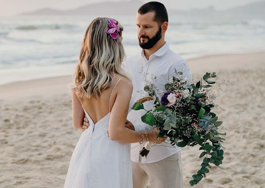 Plaj Sahil Düğünü Saç Modelleri - Oleg Cassini